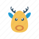 animal, buffalo, cow, farm icon