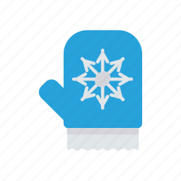 gloves, hand, wear, winter icon