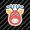 animal, buffalo, cow, farm icon