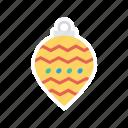 ball, celebration, decorate, decoration icon