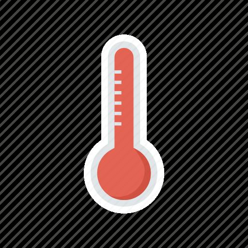 fever, healthcare, temperature, weather icon