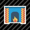 firehouse, flame, hot, light