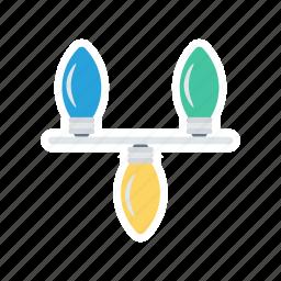 bulb, decoration, idea, light icon