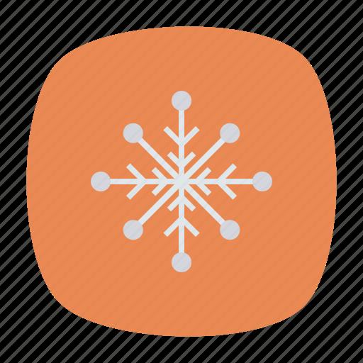 cold, flake, snow, winter icon
