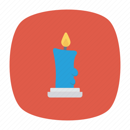 candle, decoration, light, memorial icon