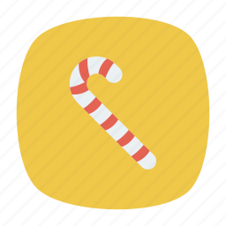 candy, cane, sweet, toffee icon