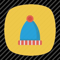 beanie, cap, fashion, hat icon
