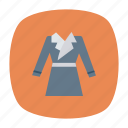 cloth, coat, dress, jacket icon
