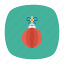 ball, decorate, disco, party icon