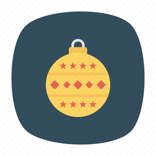 ball, celebration, christmas, decoration icon