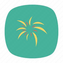 celebration, fireworks, party, sparkler icon