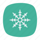 cold, flake, snow, winter icon