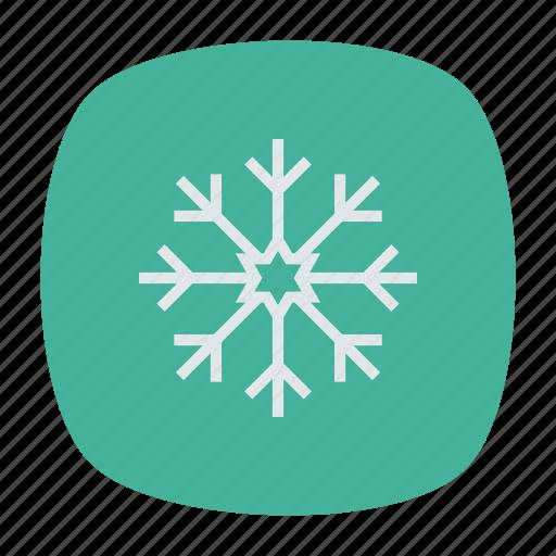 flake, ice, snow, winter icon