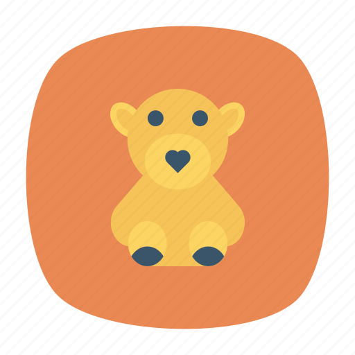 Bear, cuddle, teddy, toy icon - Download on Iconfinder