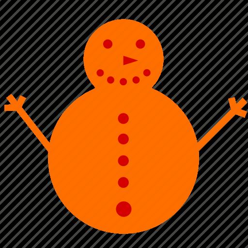 christmas, snowman, xmas icon