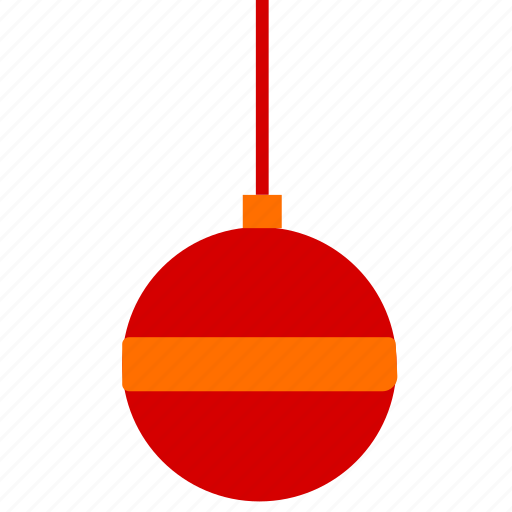 ball, christmas, toy icon