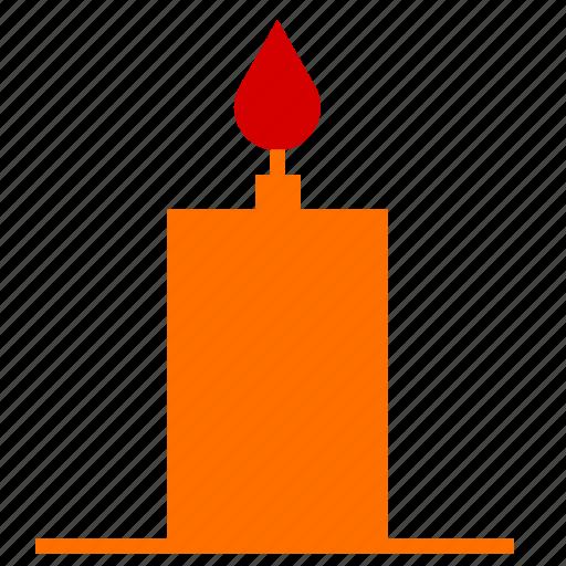 candle, celebration, christmas, decoration icon