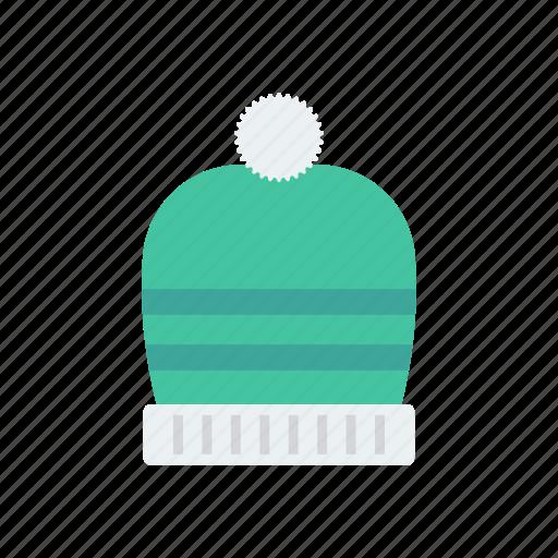 beanie, beret, cap, hat icon