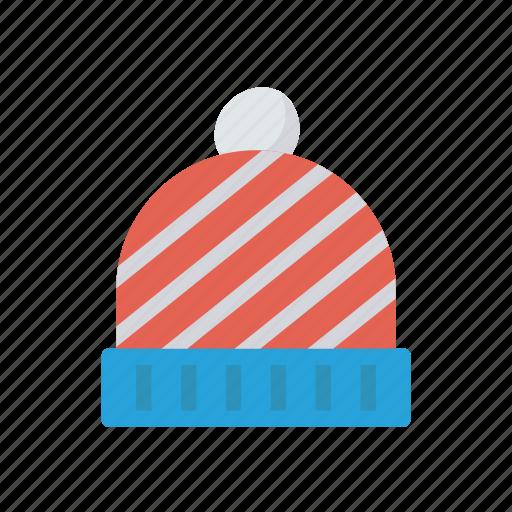 beanie, cap, fasion, hat icon