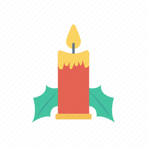 candle, flame, light, torch icon