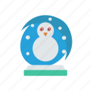 ball, christmas, crystal, magic icon