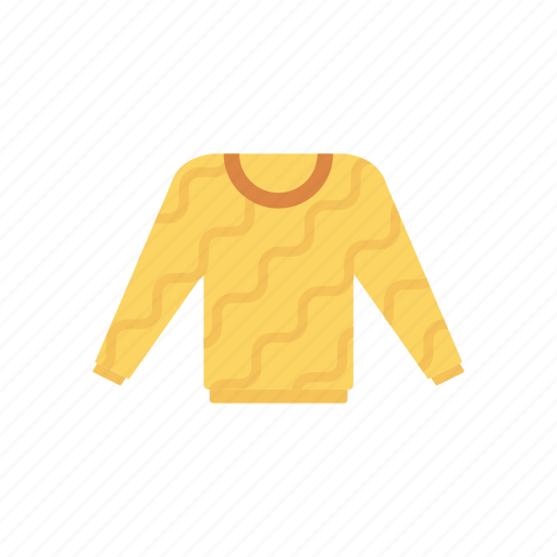 cloth, jersey, shirt, sweater icon