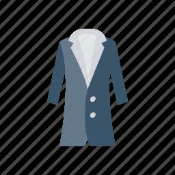 coat, dress, jacket, wear icon