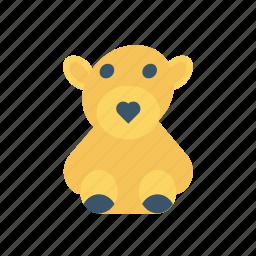 bear, cuddle, teddy, toy icon