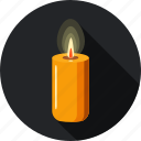 candle, faith, hope, lamp, light, shine icon