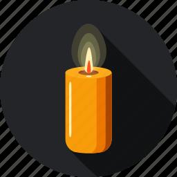 candle, faith, hope, lamp, light, shine icon