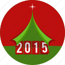 card, celebration, christmas, new, star, year icon