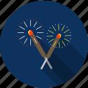 celebration, christmas, fireworks, holiday icon