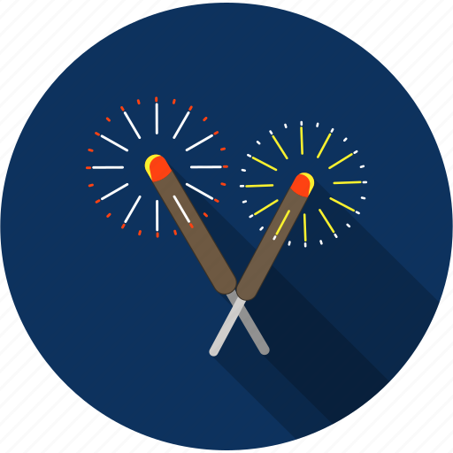 celebration, christmas, fireworks, holiday, party icon
