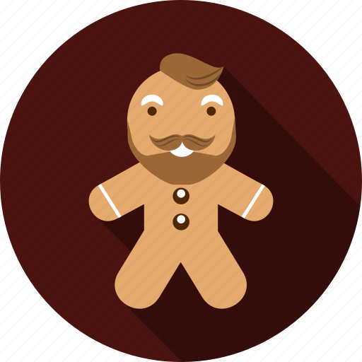 boy, cakes, gingerbread, man, sweets icon