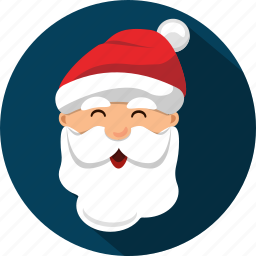 christmas, claus, costume, holiday, old, santa, smile icon