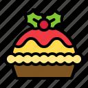 christmas, food, xmas, pie, tart icon