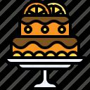 christmas, food, orange cake, lemon cake, fruitcakes