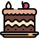 cake, christmas, food, sweet icon