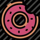 doughnut, food, snacks, sweets icon