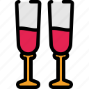alcohol, chill, drink, wine icon