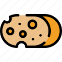 cheddar, cheese, christmas, food icon