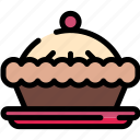cake, christmas, food, pie icon