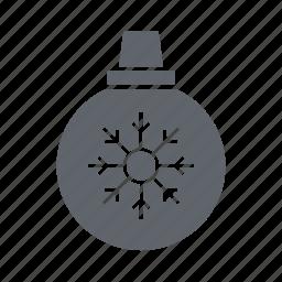 bauble, christmas, decoration, ornament, present, santa icon