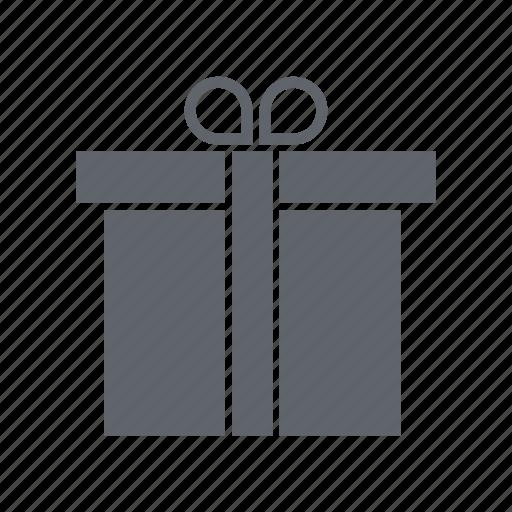 birthday, box, gift, party, present, ribbon icon
