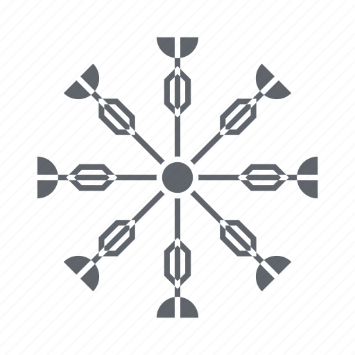 cold, holiday, snow, snowflakes, weather, winter icon