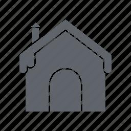 ice, snow, snow house, weather, winter icon