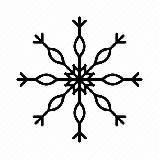 cloudy, cold, ice, snow, snowflake, snowflakes, weather icon
