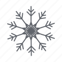 christmas, forecast, snow, snowflakes, weather, winter icon