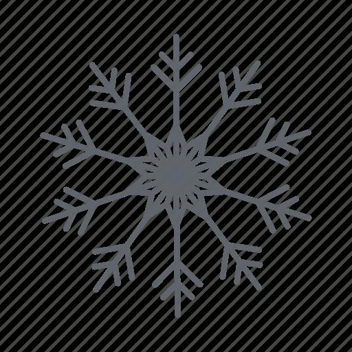 christmas, forecast, snow, snowflakes, weather, winter icon