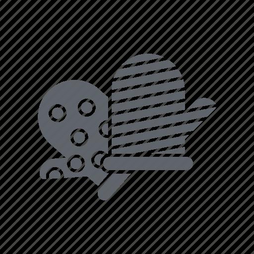 glove, gloves, kitchen, restaurant icon